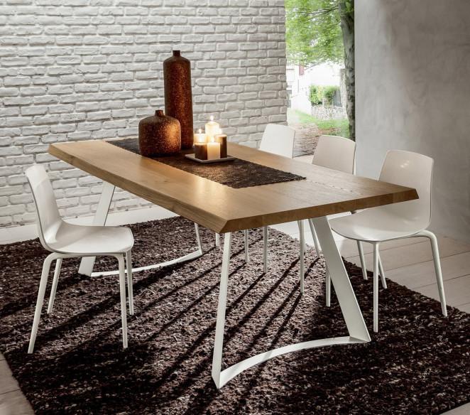 Tavolo in legno scortecciato Bruno- La Primavera-MIT Design Store