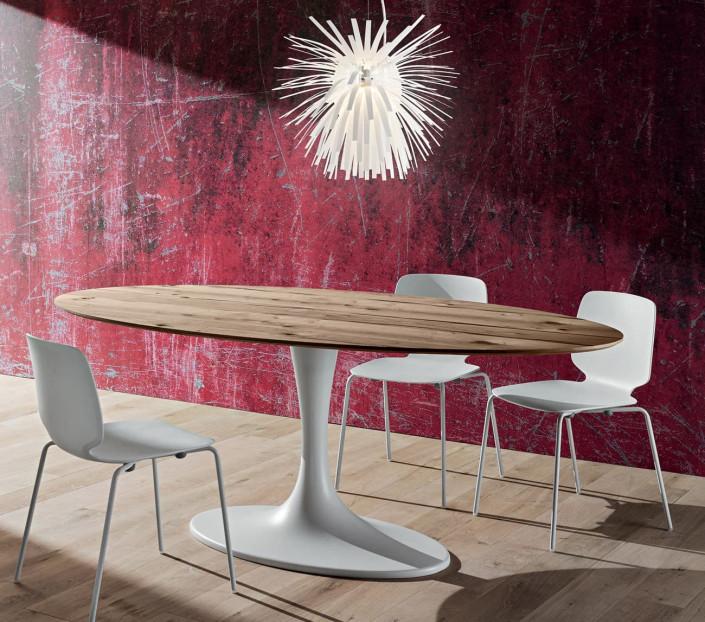 Tavolo ovale moderno Ruud La Primavera -MIT Design Store