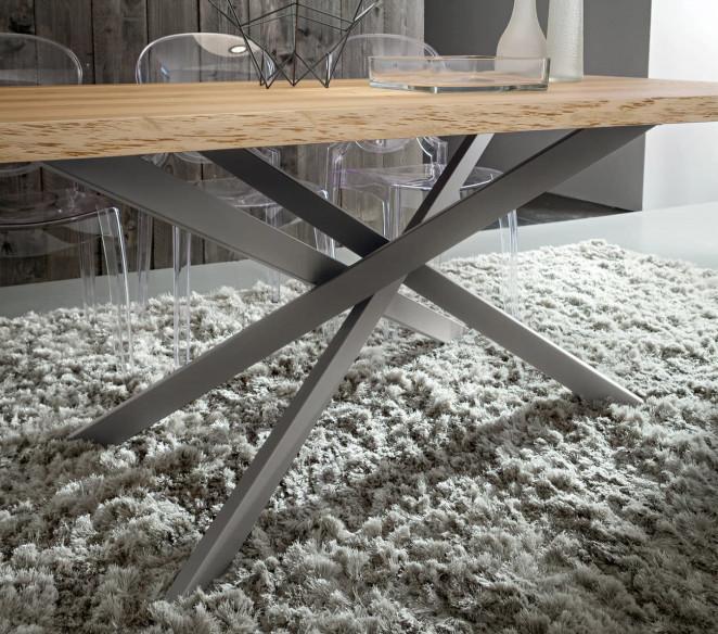 Struttura centrale tavolo Renzo