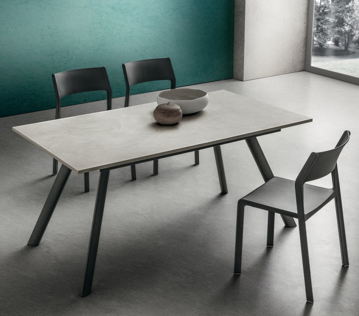 Tavolo 6 posti a sedere Neil La Primavera - MIT Design Store
