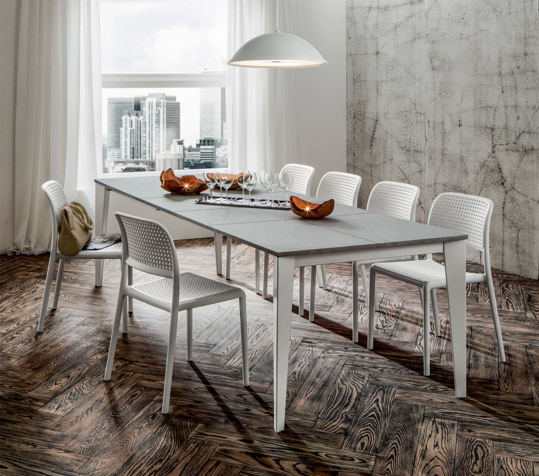 Tavolo Quadrato 100x100 Allungabile Carlo Mit Design Store