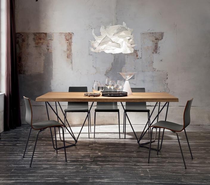 Tavolo da pranzo di design Denis