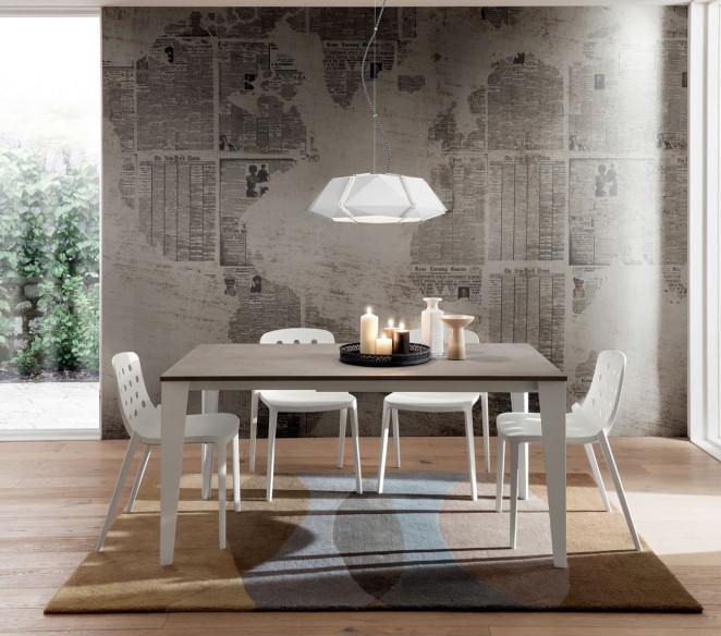 Tavolino da pranzo moderno Carlo