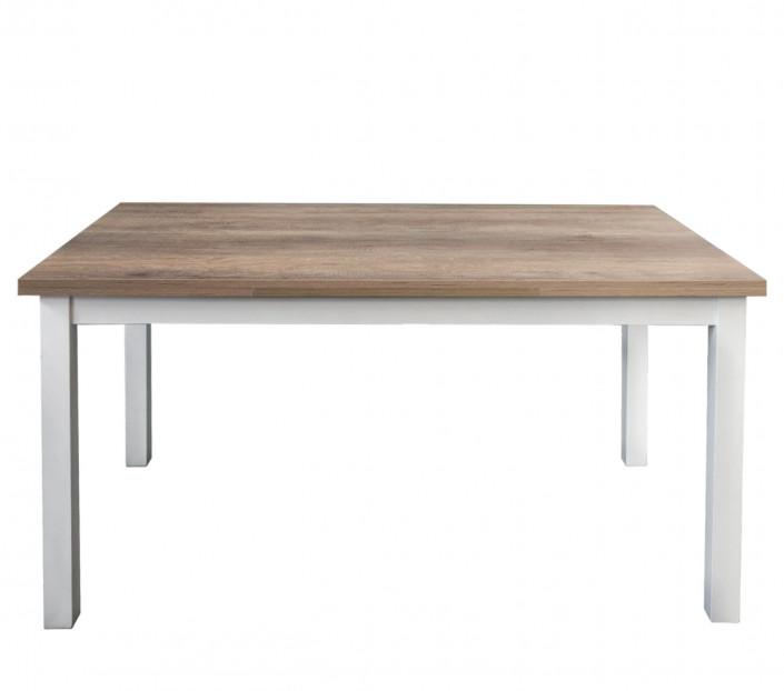 Tavolo 110x70 allungabile rovere nodato scuro Andrea - MIT Design Store