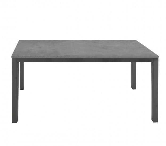 Tavolo allungabile con piano in cemento Marco - MIT Design Store