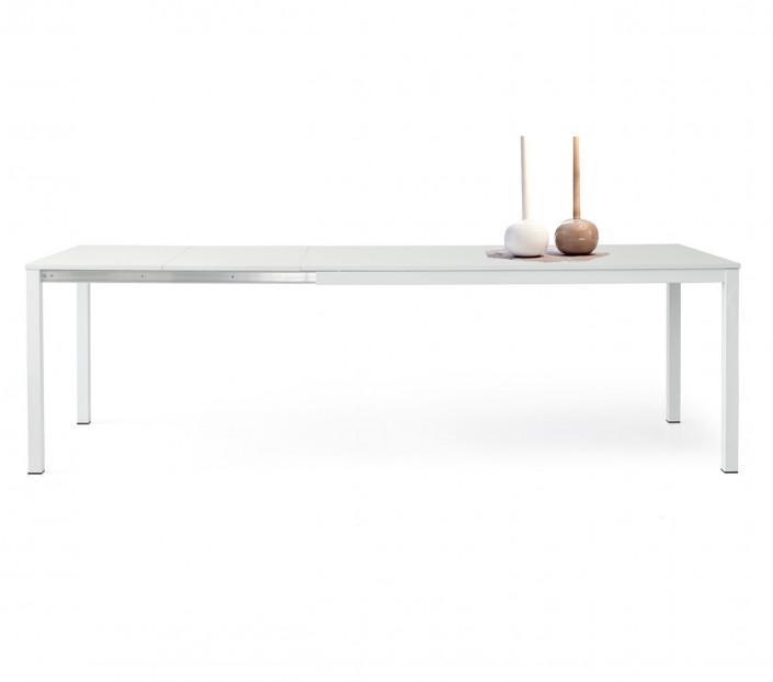 Tavolo Bianco Design.Tavolo Bianco Allungabile Ivo