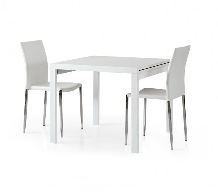 Tavolo allungabile quadrato Bianco Remo - MIT Design Store