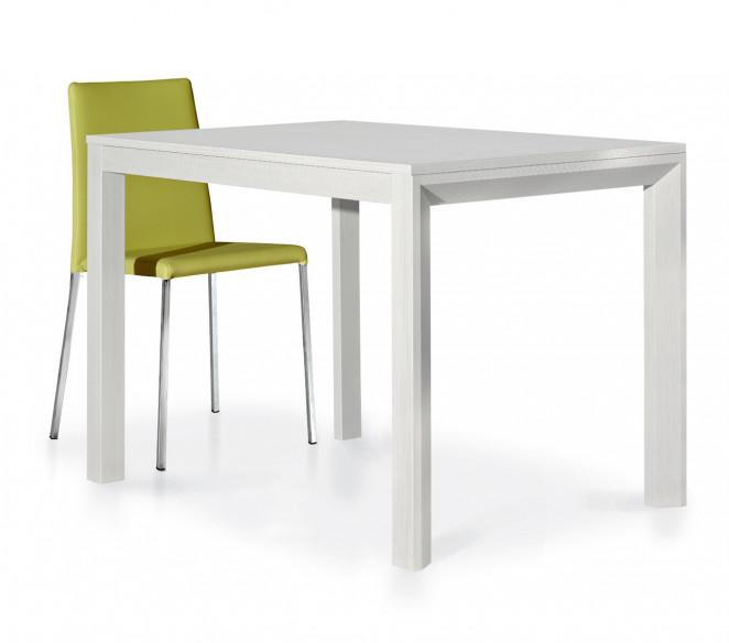 Tavolo allungabile bianco frassinato Nicola - MIT Design Store