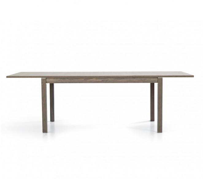 Tavolo in legno finitura Tortora