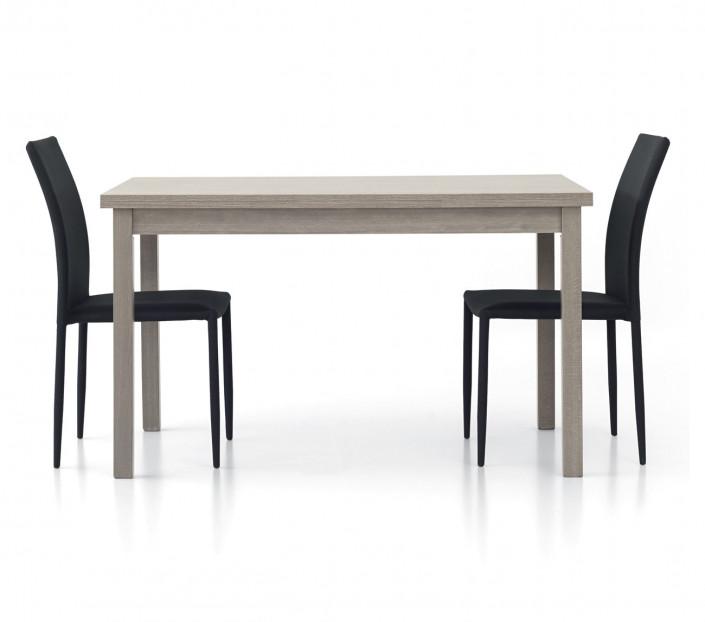 Tavolo allungabile rovere grigio 130x80 Giovanni - MIT Design Store