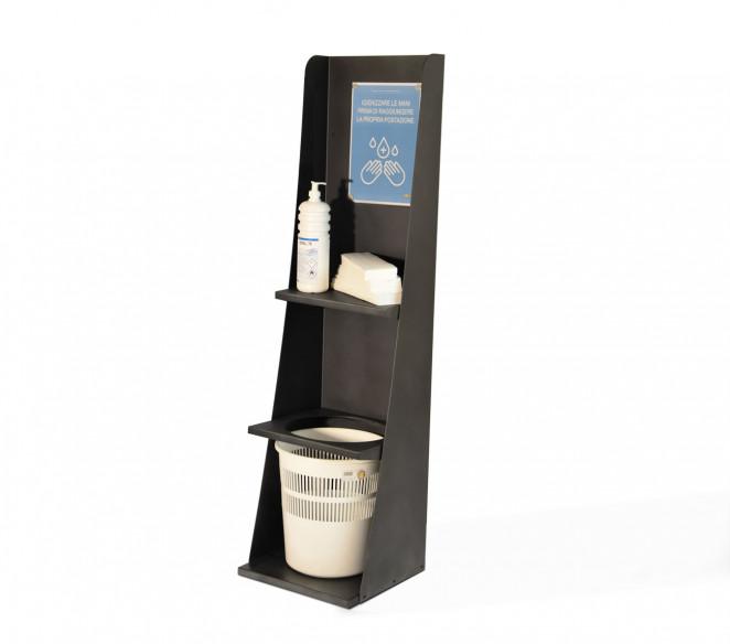 Totem porta gel igienizzante mani H1200mm - MIT Design Store