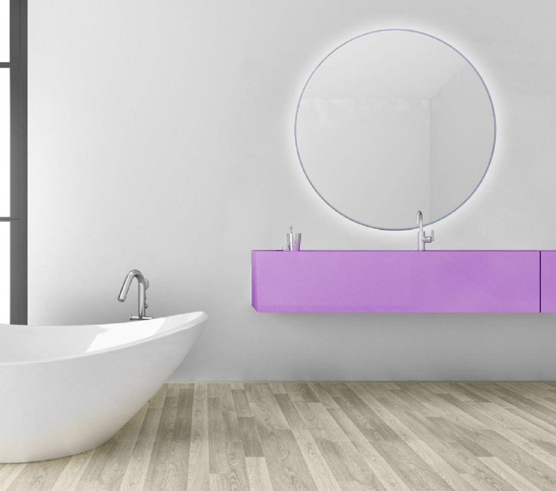 Specchio Tondo Da Bagno Retroilluminato Su Misura Luna Mit Design Store