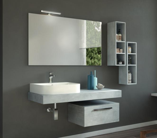 Composizione bagno moderno Zosma - MIT Design Store