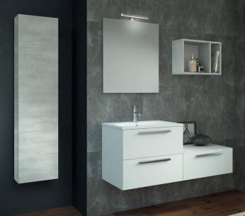 Composizione bagno moderna con colonna Mira - MIT Design Store
