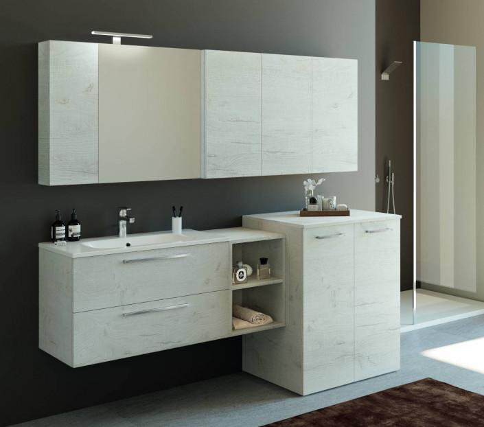 Composizione con porta lavatrice Maia - MIT Design Store