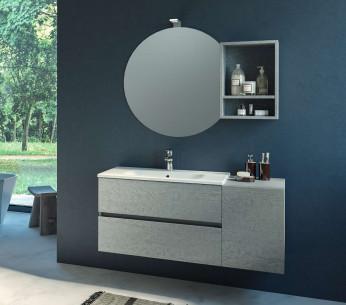 Composizione bagno sospesa 116cm Chara - MIT Design Store