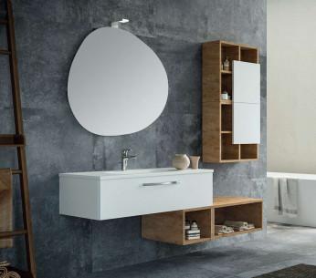 Composizione bagno con cassetto Elettra - MIT Design Store