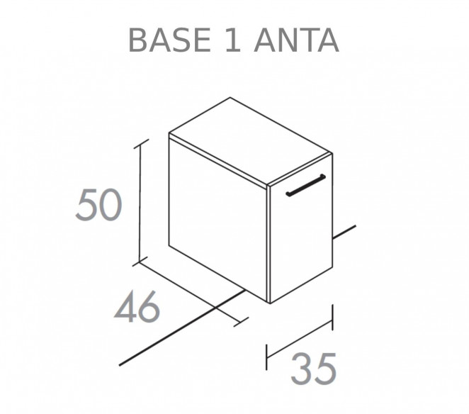 Base 1 anta composizione Chara