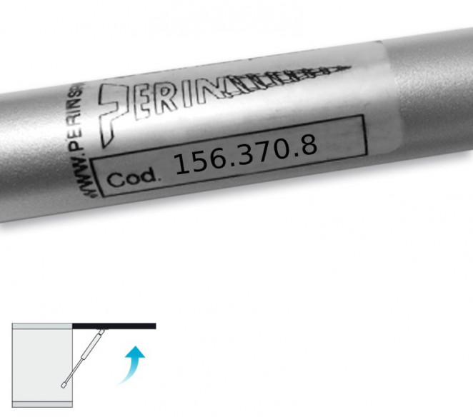 Codice molle a gas Perin 156-370-8 Classic