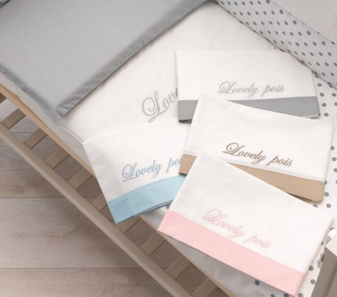 Set lenzuolini lettino modello Contact - MIT Design Store