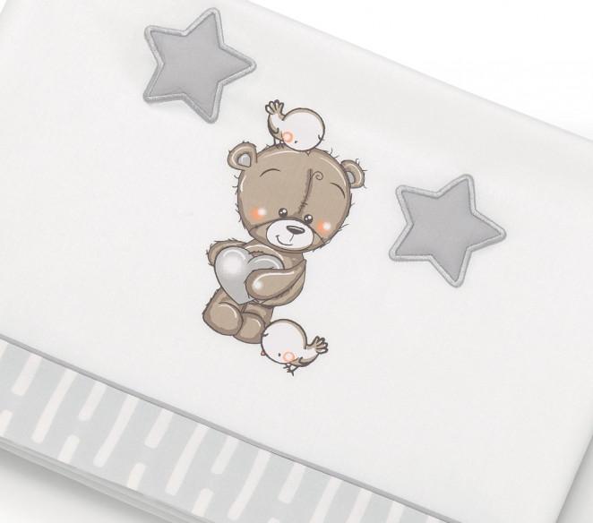 Particolare orsetto lenzuola Love Me - MIT Design Store