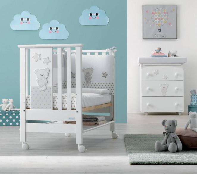 Cameretta per neonato Contact Art Bianco