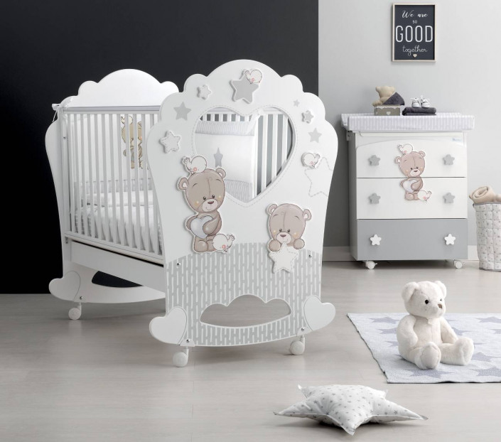 Cameretta bebè ambientata Love Me - MIT Design Store