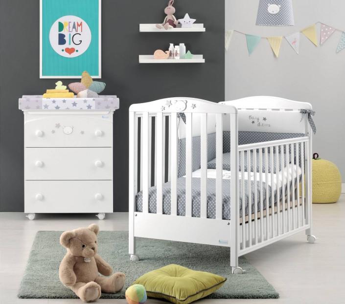 Completo cameretta Baby Dream Bianco - MIT Design Store