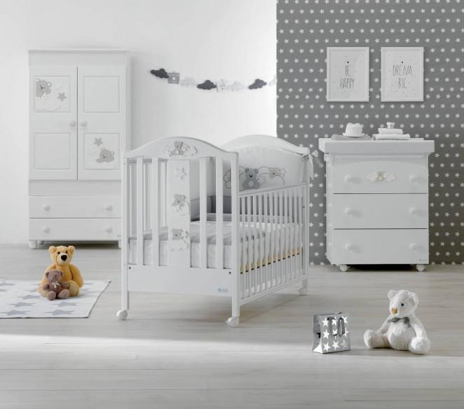 Cameretta neonato Starlette Bianco - MIT Design Store