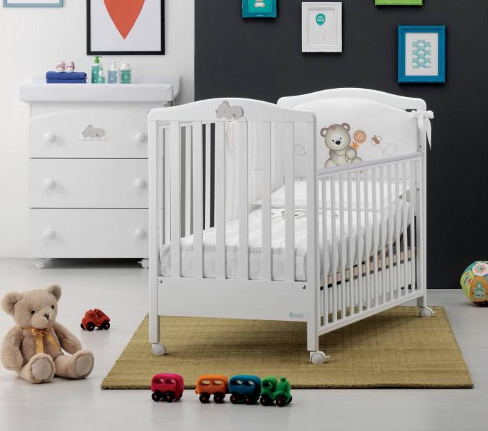 Cameretta neonato Web Bianco - MIT Design Store
