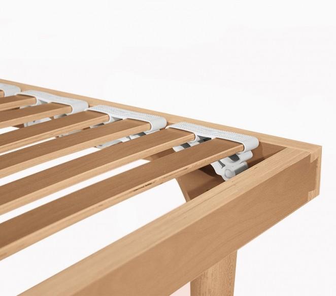 Particolare doghe in legno rete UltraComfort - MIT Design Store