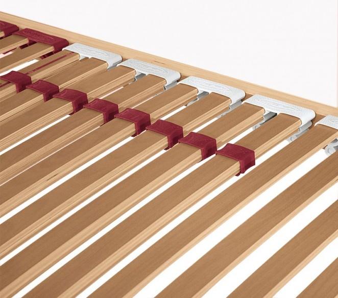 Particolarità doghe in legno con regolatori di rigidità rete letto UltraComfort - MIT Design Store