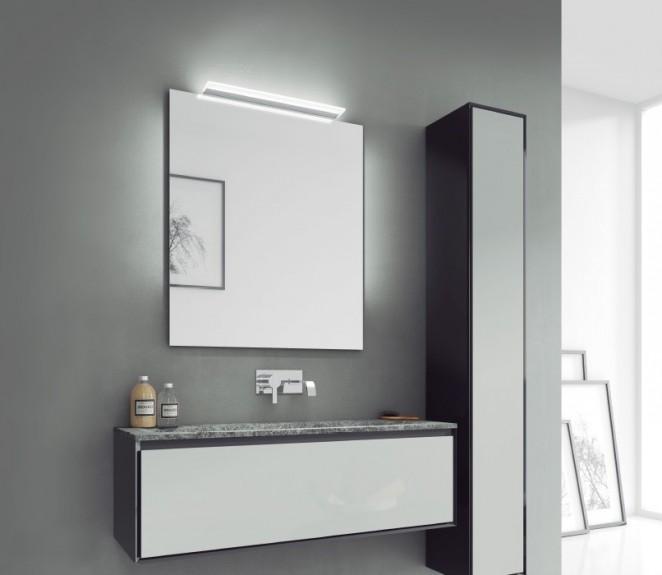 Ambientazione luce specchio bagno Katherine s2 500mm - MIT Design Store