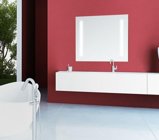 Specchio bagno con luce integrata Venere - MIT Design Store