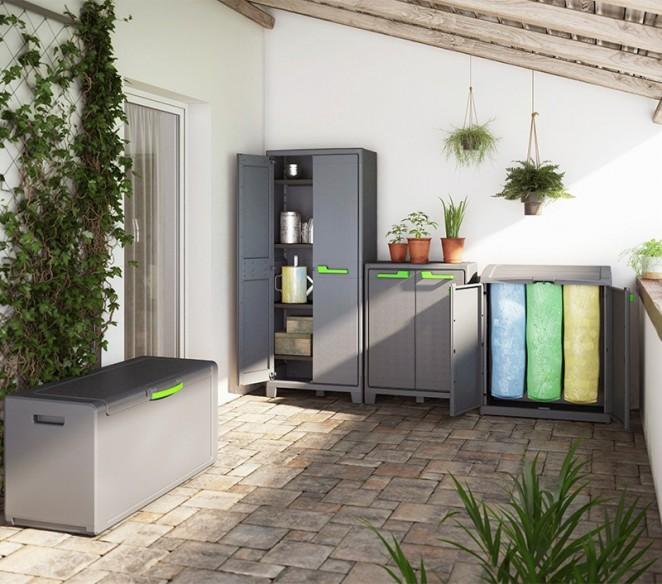 Ambientazione esterno Recycling