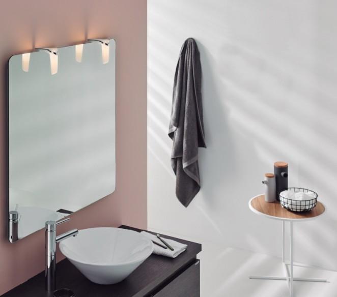 Ambientazione luce specchio bagno Sabrina 2