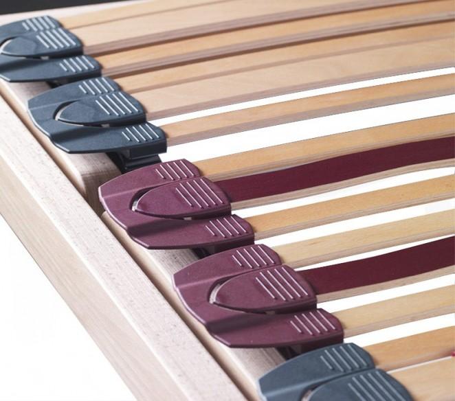 Dettaglio rete a doghe in legno rete letto Gaia - MIT Design Store