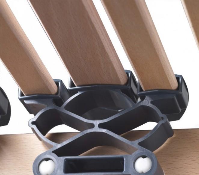 Particolare ammortizzatore rete ortopedica Gaia - MIT Design Store