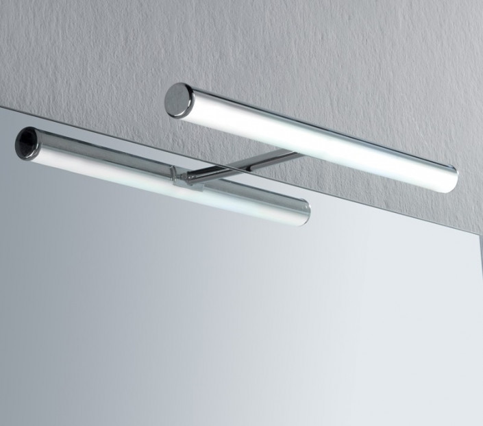 Luce da specchio bagno a led irene s3 su mit design store for Lampade bagno design