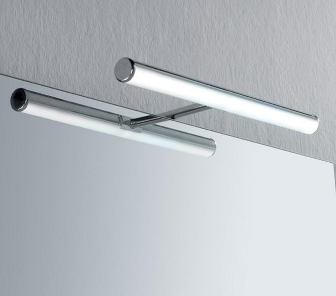 Ambientazione luce da specchio bagno Ebir Irene S3