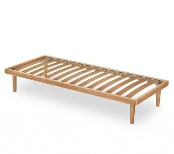 Rete per letto singolo in legno Ebano - MIT Design Store
