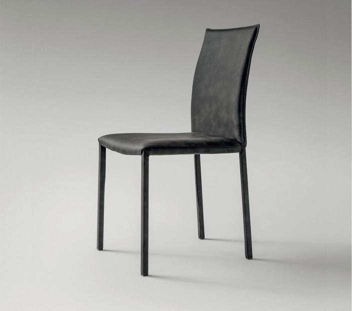 set 2 sedie moderne ecopelle Miami