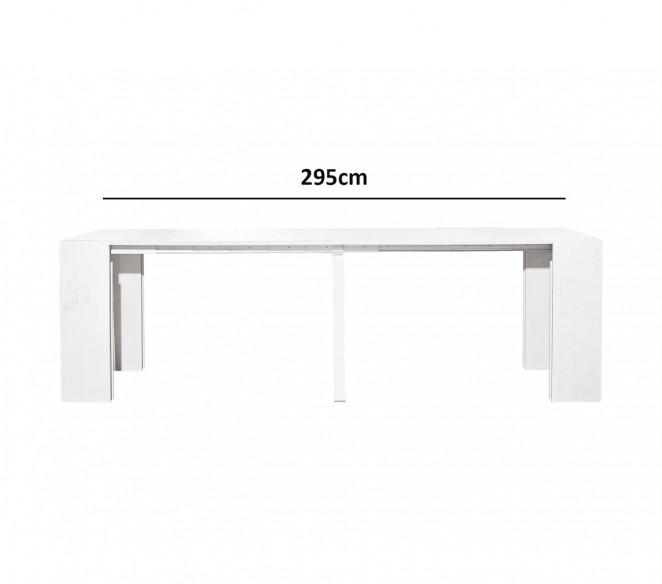 Tavolo allungabile a consolle fino a 295cm - MIT Design Store