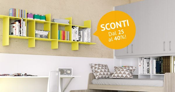 Mobili e librerie componibili: è ora di dare colore alle camerette dei più piccoli!