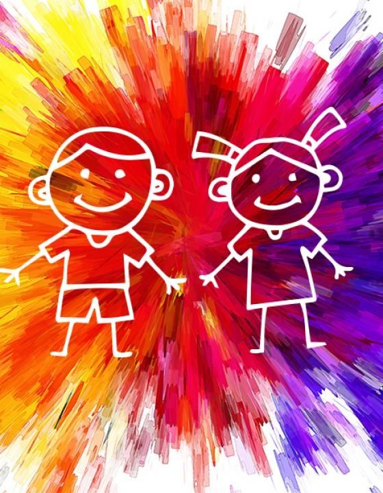 Cromoterapia e bambini: il potere dei colori!
