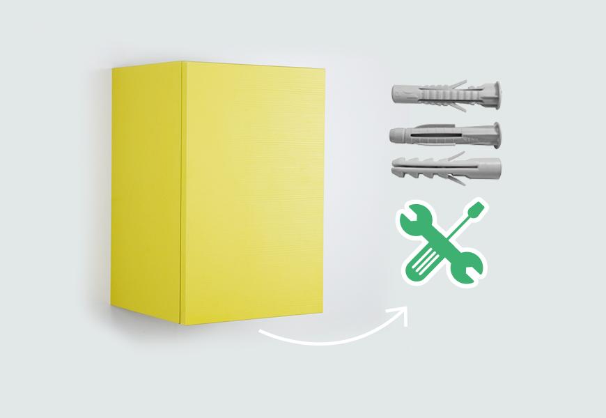 Sistemi di fissaggio tasselli e viti per pensili mit blog for Blog di design