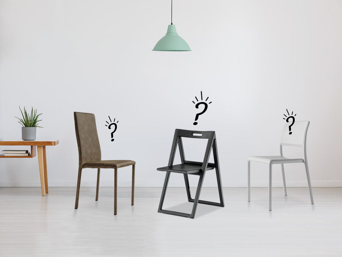 come scegliere le sedie per la tua casa