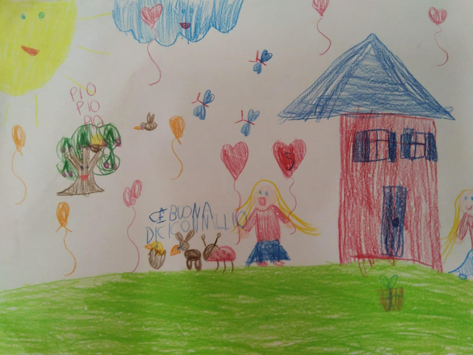 La primavera in casa - Elisabetta, 6 anni