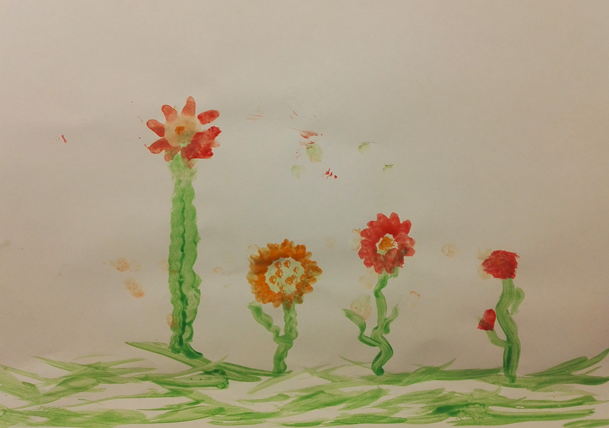 Un campo di fiori in appartamento - Gabriele - 2 Anni e Mezzo